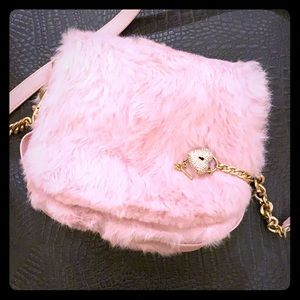 Juicy Couture Pink Fur Bag